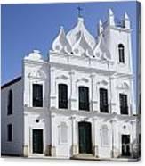 Church Sao Luis Brazil Canvas Print