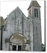 Church St Thibault- Burgundy Canvas Print