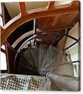 Church Stairs Canvas Print