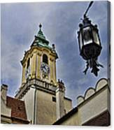 Church Steeple - Bratislava Slovakia Canvas Print