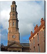 Church Street In Charleston Sc Canvas Print