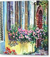Church Street Textures Canvas Print