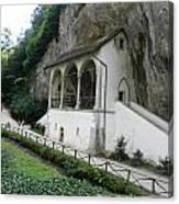 Church Under Cliff Canvas Print