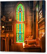 Church Vestibule Canvas Print