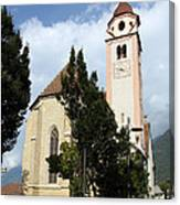 Church Village Tirol Canvas Print
