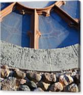 Church Window Detail Canvas Print