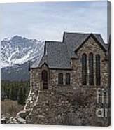Church With A View Canvas Print