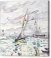 Ciboure Canvas Print