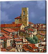 Cielo A Pecorelle Canvas Print