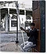 Cigar Shop On Bourbon Street New Orleans Canvas Print