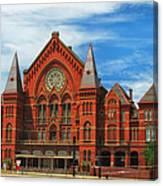 Cincinnati Music Hall Canvas Print