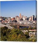 Cincinnati, Ohio Canvas Print