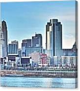 Cincinnati Panorama Canvas Print