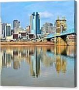 Cincinnati Reflects Canvas Print