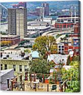 Cincinnati Rooftop 9965 Canvas Print