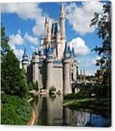 Cinderellas  Castle Canvas Print