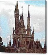 Cindies Castle Canvas Print