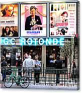 Cinema In Paris Canvas Print