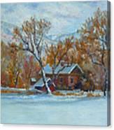 Cinnamon House  Canvas Print