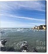 Cinque Terre And The Sea Canvas Print
