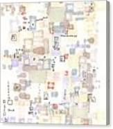 Cipher Canvas Print