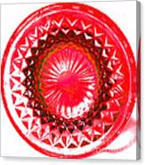 Circle Red Canvas Print