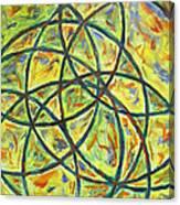 Circles Canvas Print