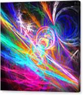 Circles Of Colours Canvas Print