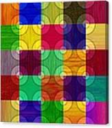 Circles Over Squares Canvas Print