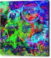 Circles Within Circles Canvas Print