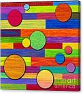 Circular Bystanders  Canvas Print