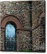 Circular Church Window Canvas Print