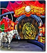 Circus Act Canvas Print