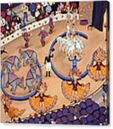 Circus Ladies Canvas Print