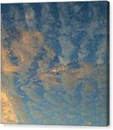Cirrocumulus Morning Canvas Print