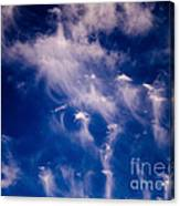 Cirrus Uncinus Clouds 11 Canvas Print