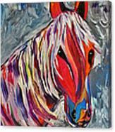 Cisco Abstract Horse  Canvas Print