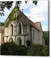 Cistercian Abbey Of Fontenay Canvas Print