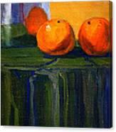 Citrus Chrome Canvas Print