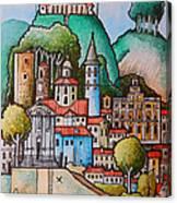 Citta Di Castello Canvas Print