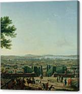 City And Port Of Toulon, 1756 Oil On Canvas Canvas Print