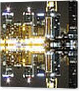 City Approach Panoramic Canvas Print
