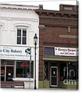 City Bakery In Clare Michigan Canvas Print