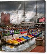 City - Baltimore Md - Modern Maryland Canvas Print