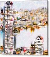 City By The Bay Canvas Print