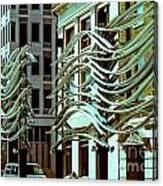 City Center-9 Canvas Print