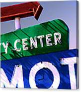 City Center Motel Canvas Print