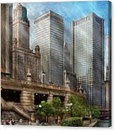 City - Chicago Il - Continuing A Legacy Canvas Print