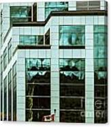 City Cnter-80 Canvas Print