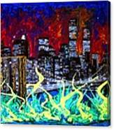City Escape By Darryl Kravitz Canvas Print